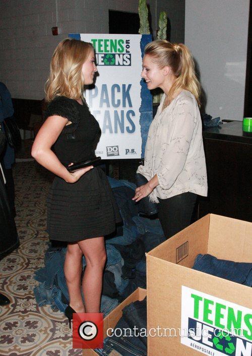 Julianne Hough and Kristen Bell 9