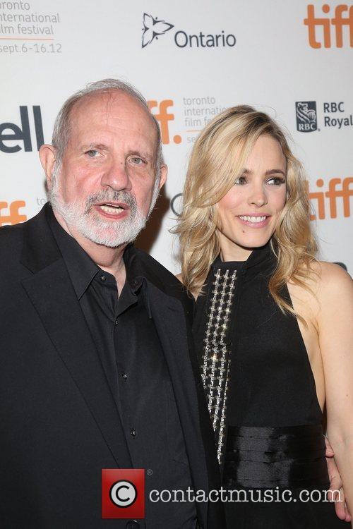 Brian De Palma and Rachel Mcadams