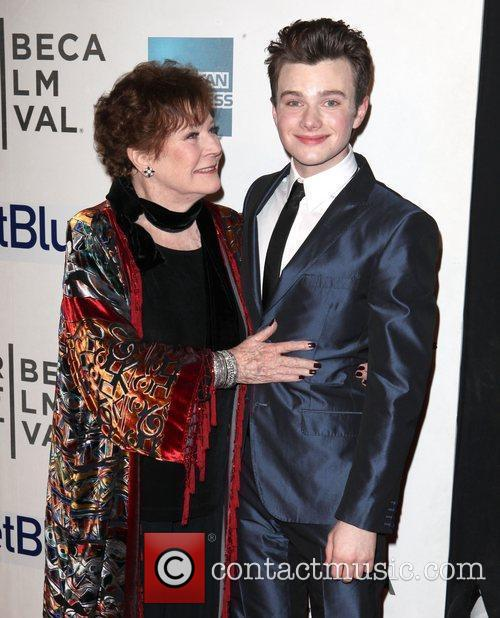 Polly Bergen, Chris Colfer and Tribeca Film Festival 2