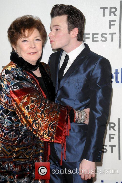 Polly Bergen, Chris Colfer and Tribeca Film Festival 1
