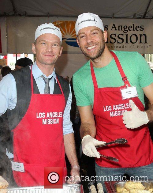 Neil Patrick Harris, Zachary Levi and Los Angeles Mission 2