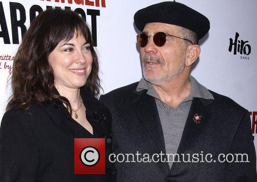Rebecca Pidgeon, David Mamet, Broadway, The Anarchist, Golden Theatre and Arrivals. New York City