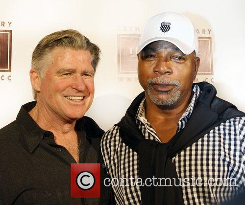 Treat Williams, Guest and Santa Monica Pier