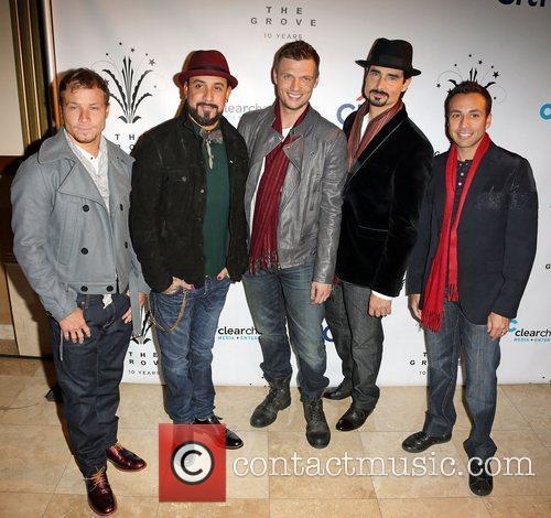 Backstreet Boys, A, L-r, Brian Littrell, J. Mclean, Nick Carter, Kevin Richardson and Howie Dorough 1