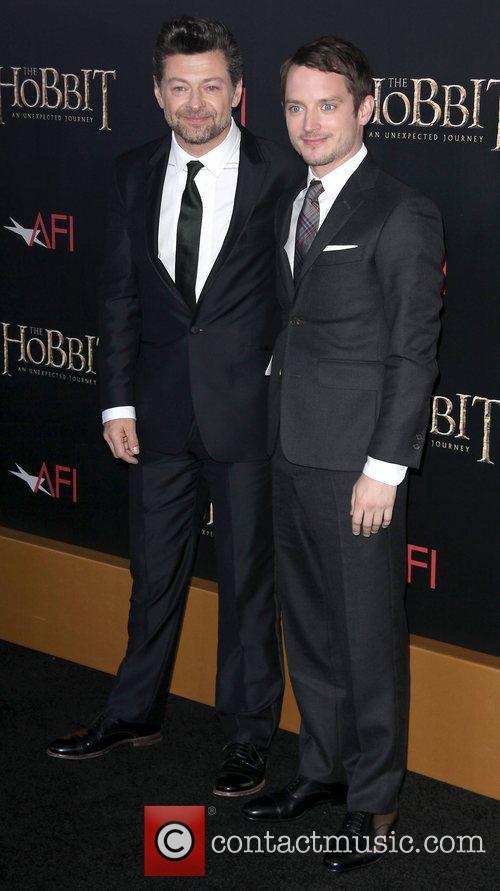 Andy Serkis and Elijah Wood 2