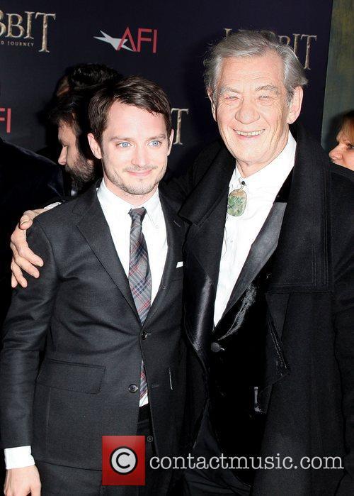 Elijah Wood and Ian Mckellen