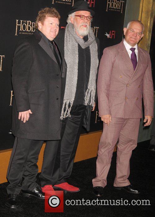 Left, Stephen Hunter, John Callen and Mark Hadlow