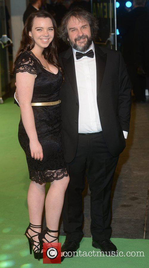 Peter Jackson, The Hobbit, An, Odeon, Leicester Square, London and England 2