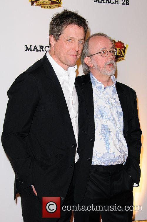 Hugh Grant and Peter Lord