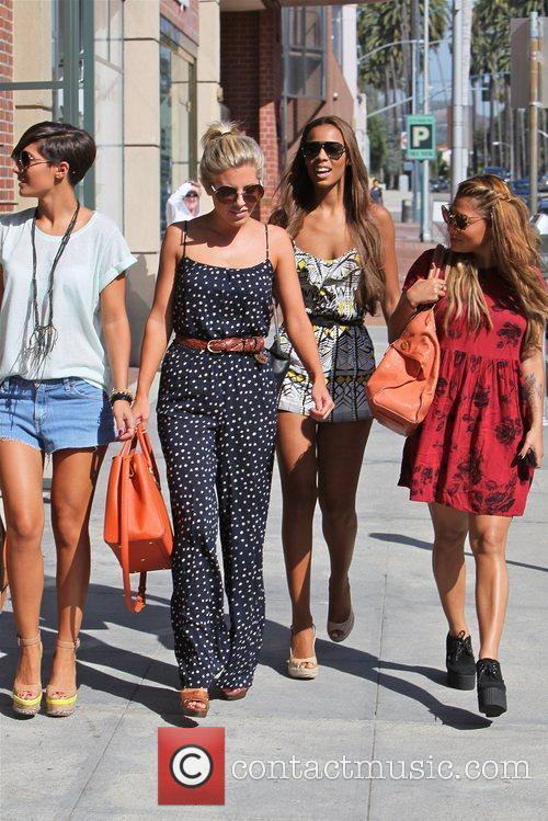 Frankie Sandford, Mollie King, Rochelle Wiseman and Vanessa White 4