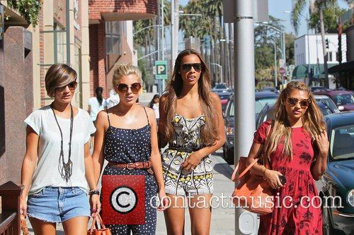 Frankie Sandford, Mollie King, Rochelle Wiseman and Vanessa White 7