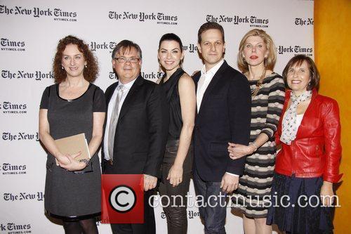 Robert King, Christine Baranski, Josh Charles and Julianna Margulies