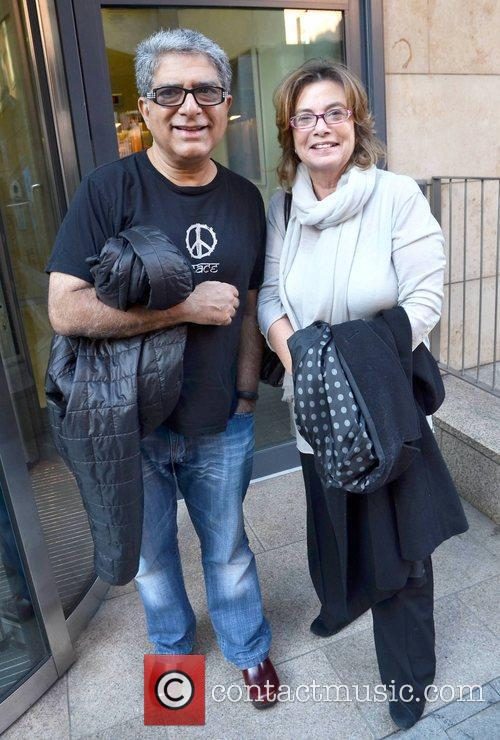 Deepak Chopra and Jane Stephenson
