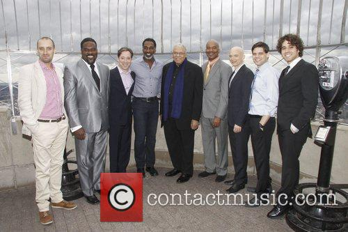 James Earl Jones, David Alan Grier, Jeremy Jordan and Michael Cerveris