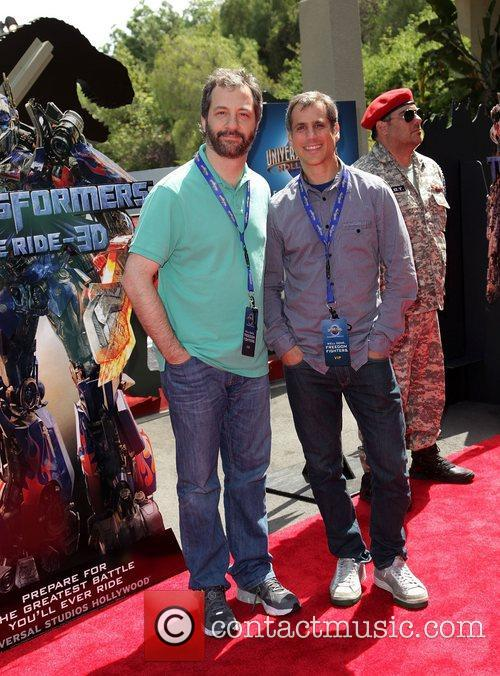 Judd Apatow and Barry Mendel