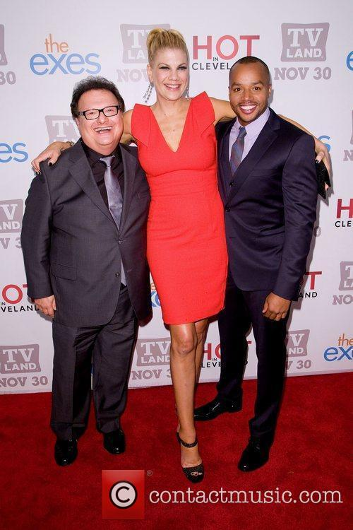 Wayne Knight, Donald Faison and Kristen Johnston