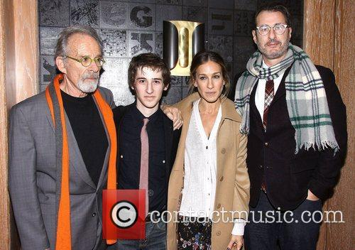 Ron Rifkin, Noah Robbins, Sarah Jessica Parker, Jon Robin Baitz, The Twenty-seventh Man, The Public Theater. New and York City