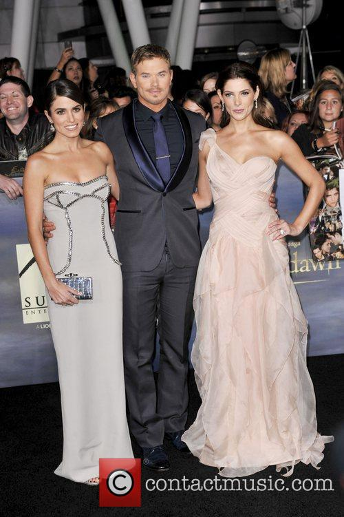 Nikki Reed, Kellan Lutz and Ashley Greene