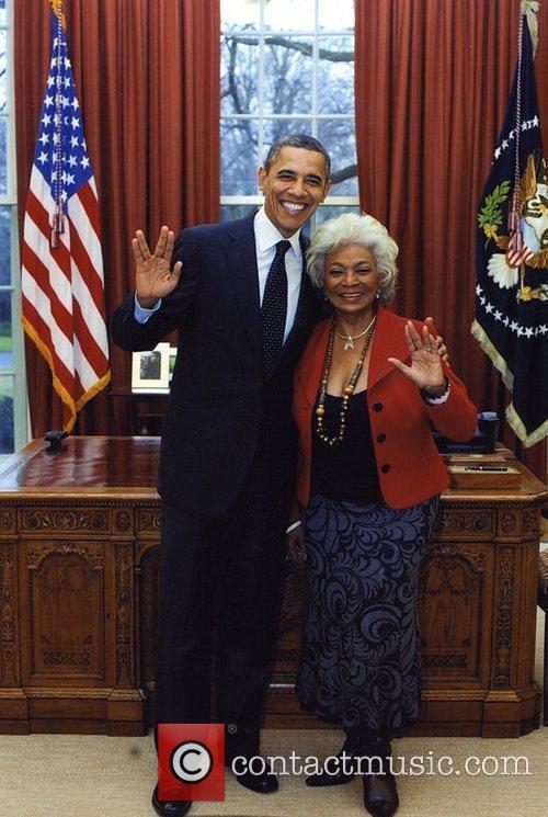 Star Trek, Barack Obama and Nichelle Nichols