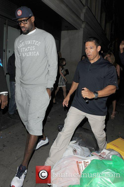 Lebron James and Funky Buddha 4