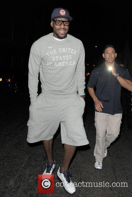 Lebron James and Funky Buddha 9