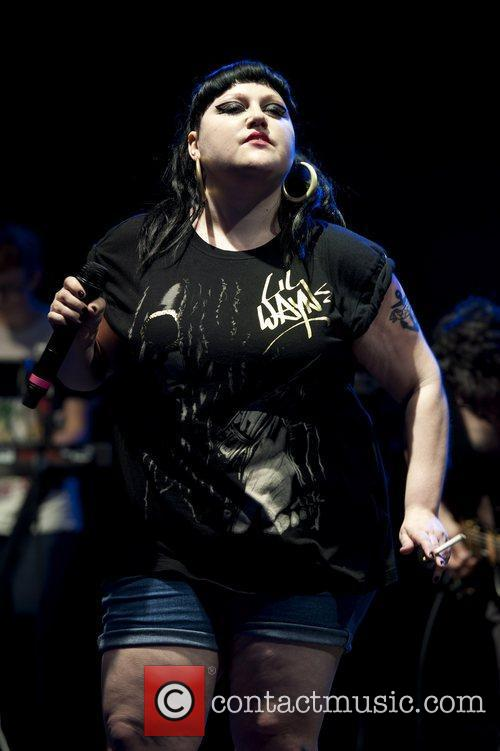 Beth Ditto and V Festival 10