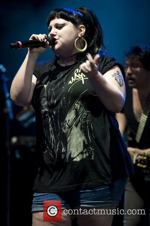 Beth Ditto and V Festival 11