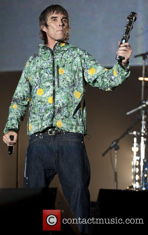 Ian Brown, The Stone Roses and V Festival 10