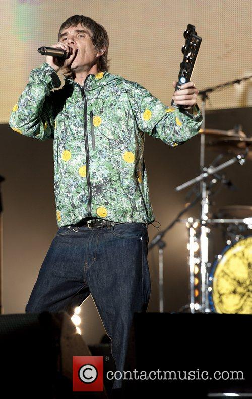 Ian Brown, The Stone Roses and V Festival 11