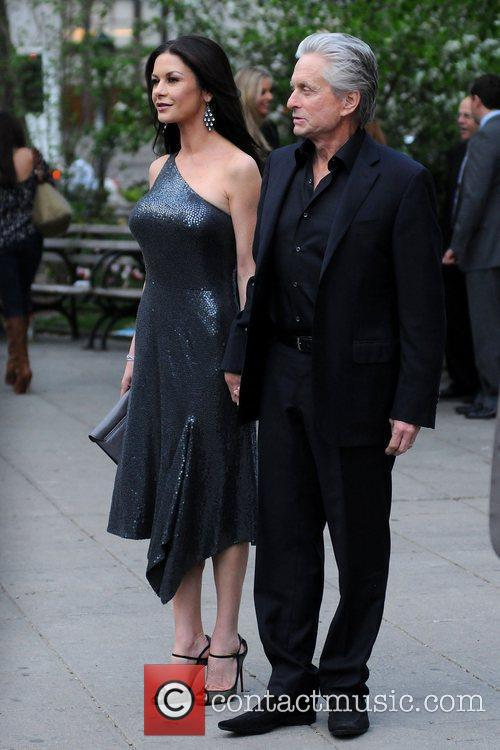 Michael Douglas, Catherine Zeta Jones and Tribeca Film Festival 1