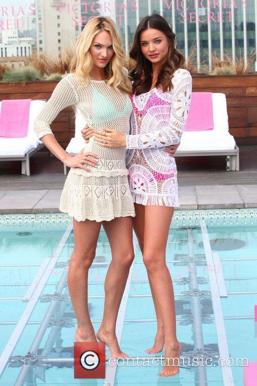 Candice Swanepoel, Miranda Kerr and Victoria's Secret