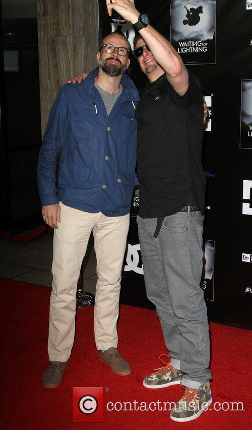 Jason Lee and Ken Block