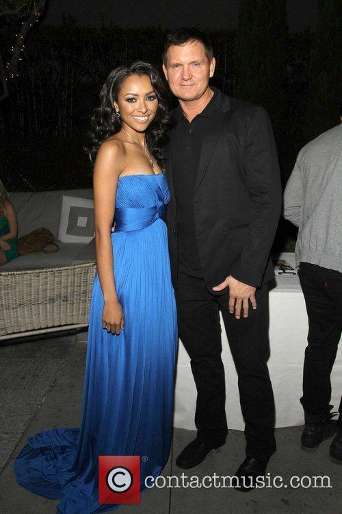 Katerina Graham and Kevin Williamson