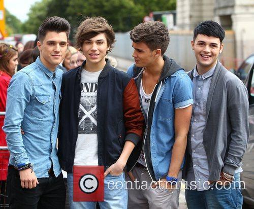 Jamie Hamblett, George Shelley, Josh Cuthbert, Jaymi Hensley, Union J and X Factor
