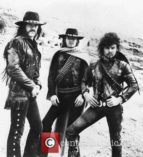 Lemmy Kilmister, Fast Eddie Clarke and Phil Taylor