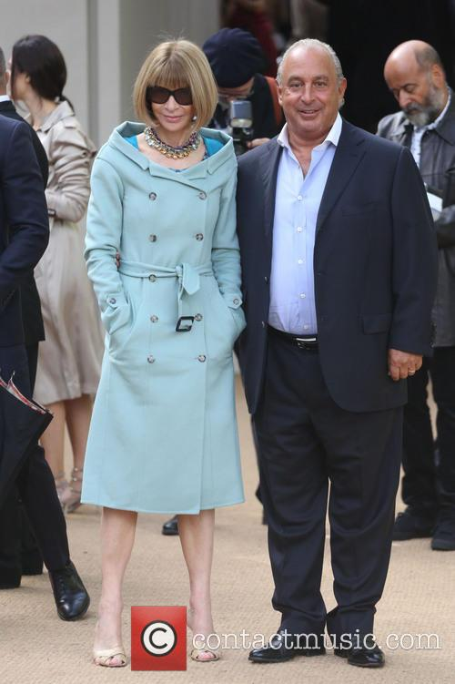 Anna Wintour and Sir Philip Green 3