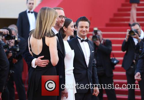 James Gray, Marion Cotillard and Jeremy Renner 3
