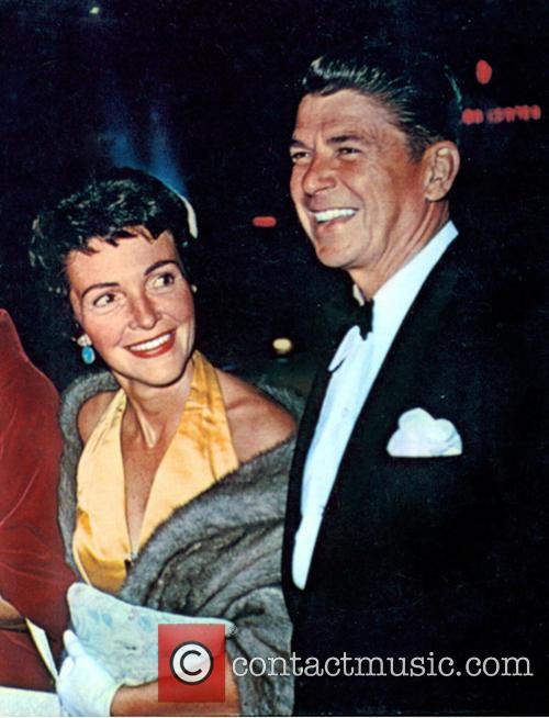Nancy Reagan, Nancy Davis and Ronald Reagan