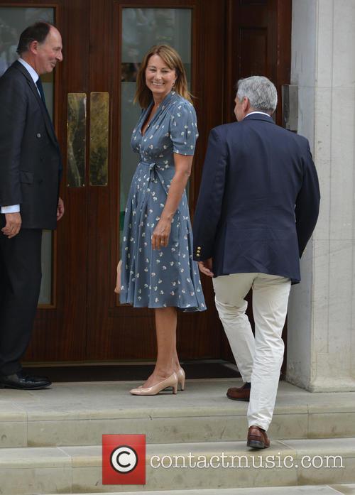 Prince Charles, Carole Middleton and Michael Middleton