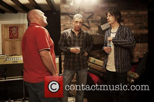 Shane Meadows and John Squire