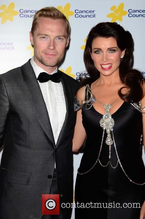 Dannii Minogue and Ronan Keating 1