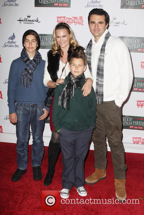 Natasha Henstridge, Darius Campbell and Their Kids
