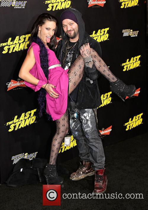 Bam Margera and Nicole Boyd 1