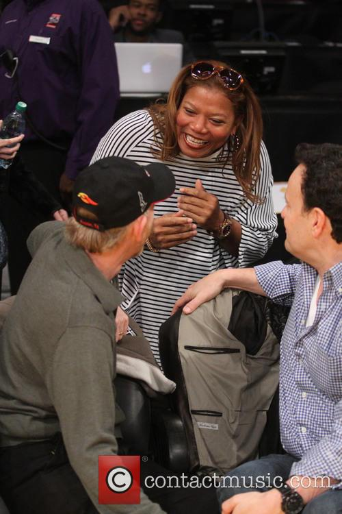 Ron Howard and Queen Latifah