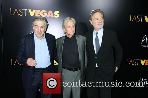 Robert Denifo, Michael Douglas and Kevin Kline