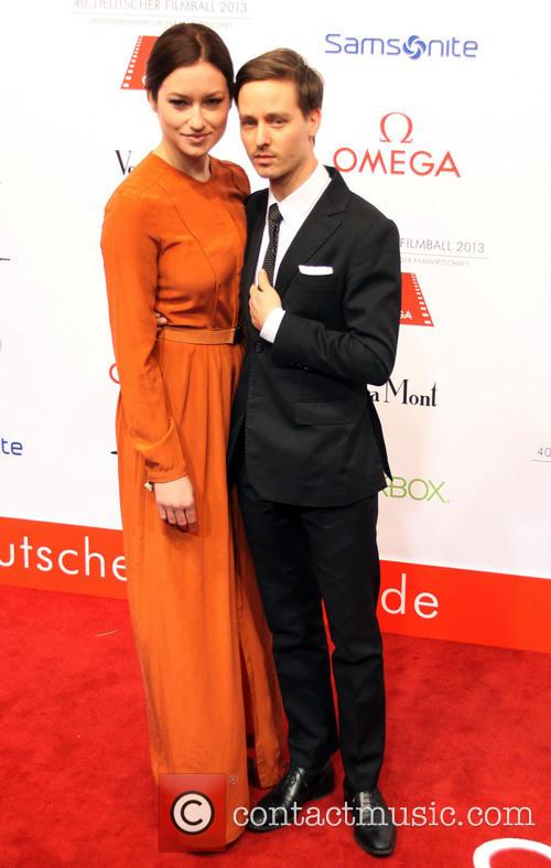 Tom Schilling and Girlfriend Annie Mosebach