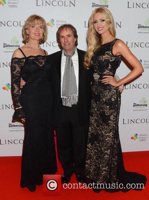 Chris De Burgh, Diane Davison and Rosanna Davison