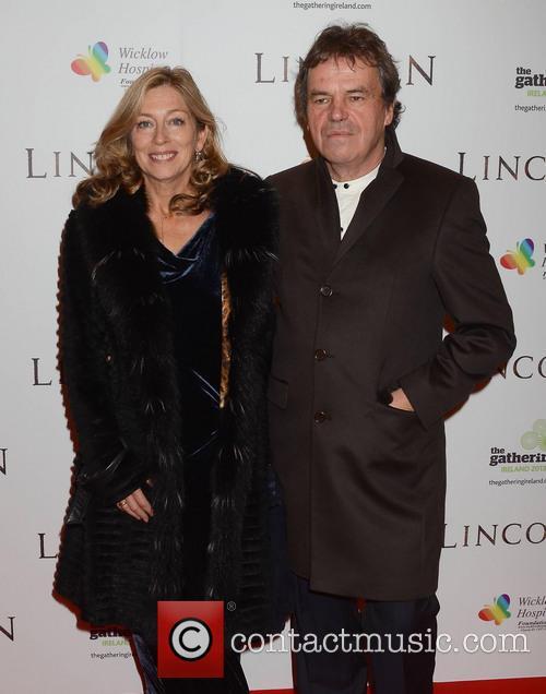 Neil Jordan and Brenda Rawn