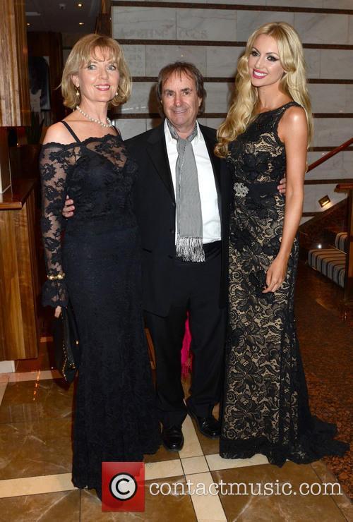 Diane Davison, Chris De Burgh and Rosanna Davison