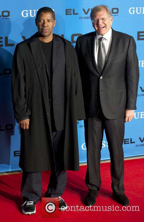 Denzel Washington and Robert Zemeckis